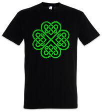 SHAMROCK IRISH KNOT IV T-SHIRT Cloverleaf Irland Kleeblatt Knoten Runes Rune