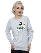 Disney Damen Mickey Mouse Hurdles Sweatshirt