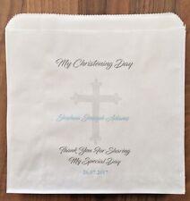 Personalised Boys & Girls Christening Sweet & Cake Bags