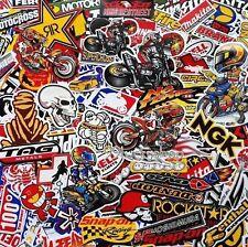 Mixed Random Stickers Motocross Motorcycle Car ATV Racing Bike Helmet Decal