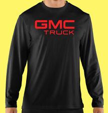 Long Sleeve T-Shirt, Truck, Auto, Motor Sports, Red, GMC TRUCK, Cotton, Gildan