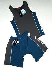 Venice Herren Sport Shirt Top Shirt  + Shorts  Gr 44 46  50 52  petrol grau  Neu