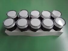 10 st Warnleuchte weiß LED 12 V 22 mm ETAV22white12VDC