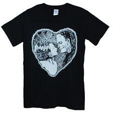 Frankenstein mariée t shirt Shelley horreur goth Noir Unisexe Imprimé Graphique Tee