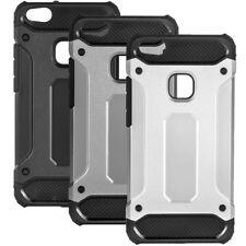 Armor Outdoor Case Huawei P10 Lite Panzer Tasche Hülle Glasfolie 3D Fullcover