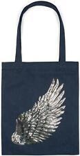 styleBREAKER sac de course avec paillettes en forme d'aile, sac à main