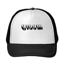 Groom Funny Adjustable Trucker Hat Cap