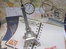 "2 Paris Eiffel Tower Miniature Display/Craft/Silver/Bronze/Home Decor B57-6"""