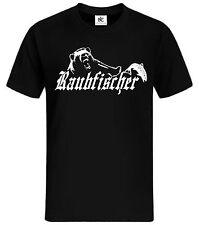Raubfischer T-shirt Fun Shirt lustig sprüche witzig Angel T-Shirt Petri Heil Bär