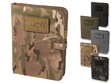 Mil-Tec Tactical Notebook Medium Dokumentenmappe Notizblock Schreibmappe