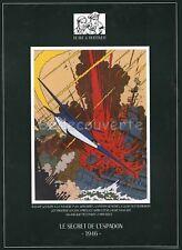 Affiche BD BLAKE ET MORTIMER JACOBS 2 500ex 35x45
