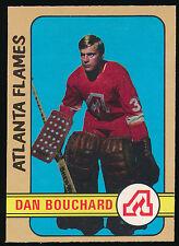 1972-73 O-Pee-Chee Hockey #203 DAN BOUCHARD (Rookie) (Atlanta Flames) *NICE*