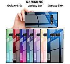 COVER per Samsung Galaxy S10 /S10e/S10 Plus Gradient Glass RETRO VETRO TEMPERATO