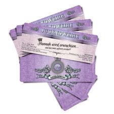 Einladungskarten zur Jugendweihe • Eintrittskarte • VIP Ticket • VIP Karte