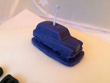 AUSTIN fx4 TAXI ref11 CANDELA cake topper in Blu Compleanno, annervisery, Matrimonio, e