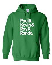 "Boston Celtics ""Paul,Kevin,Ray""Jersey shirt Hooded SWEATSHIRT"