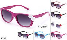 Kids Fashion Sunglasses Hello Kitty Bow FDA Approved Lead Free UV100% Girls Boys