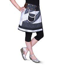 Sommerlicher Wickelrock Cacheur mit kleiner Tasche ideal für Festival Goa Hippie