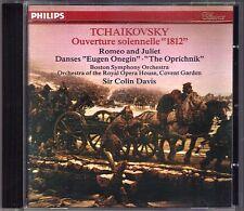 Colin DAVIS: TCHAIKOVSKY 1812 Romeo and Juliet Eugene Onegin Oprichnik CD 1981