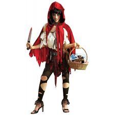 Little Red Riding Hood Costume Adult Scary Dead Halloween Fancy Dress