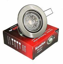 Einbauleuchte GU10 LED SET Tom 230V 3W Deckenstrahler Spots Einbaurahmen Kamilux