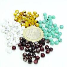 200 Abalorios Cristales Redondos 4mm A Elegir Round Beads Crystal Vetro Kristall