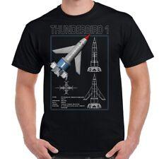 Thunderbird 1 Schematic Adult T-Shirt