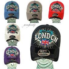London baseball caps, mens, ladies, boys, girls hip hop designer snapback dance