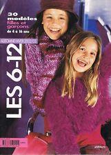 ▬► Catalogue Phildar 375   4-16 ans Garçons Filles Automne Hiver 2002-2003
