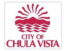 Seal of Chula Vista California Sticker / Decal R694