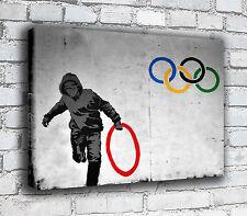 BANKSY Lona-Aros Olímpicos