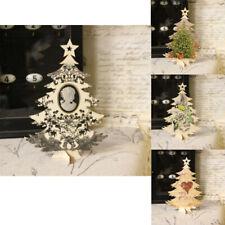 Vintage Holzaufsteller Tannenbaum 17x24cm Baum Aufsteller Weihnachten Handarbeit