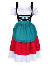 Lady Fancy Dress Costume for Dirndl Oktoberfest Dutch Beer Waitress Costume Set