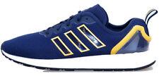 Adidas Originals ZX Flux ADV Men's Trainers Navy / Solar Gold Shoes AQ2753