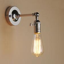 Retro Industrie Wandleuchter Lampenhalter Sconce Edison Langer Strahl Wandlampe