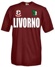 T-Shirt girocollo manica corta Supporters T51 Tifosi Livorno calcio football fan