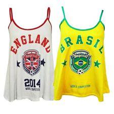 Nouveau dames Angleterre et Brésil de football du monde Compétition Gilets 36-42