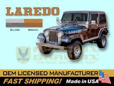 1985 1986 Jeep Laredo CJ7 Decals & Stripes Kit