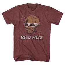 Redd Foxx Sanford And Son TV Sitcom Wearing Sunglasses Purple Adult T-Shirt