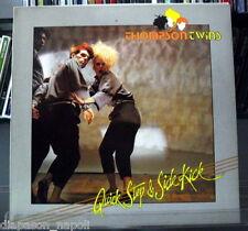 Thompson Twins: Quick Step & Side Kick LP Vinyl 33 rpm   Italy press Promo White