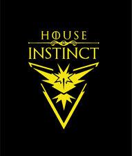 House Instinct Pokemon Go Laptop Window Decal Sticker Game of Thrones 2 Styles