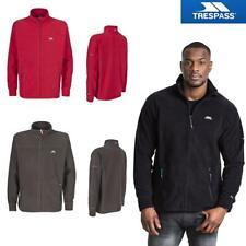 Trespass Mens Bernal Heavyweight Full Zip Fleece Jumper Warm Casual Zipper