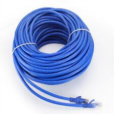 10-100ft Cat6 Network Cable RJ45 Ethernet Internet Net Lan Patch Wire Blue