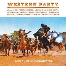 CD Western Party - Jackson et son Orchestre - Bande Originale de Films