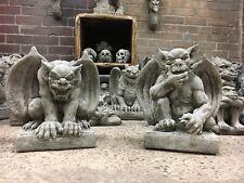 Gargoyle Stone Ornaments,Garden Ornaments,Mythical Medieval Gargoyles spirits &