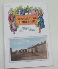 Généalogie Lorraine n° 119 Famille Kintziger, Daviller, de sehols, hugo ...