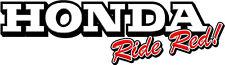 Honda Decal Motorcycle Dirt Moto CBR CRF Fury Truck Trailer Wall Art