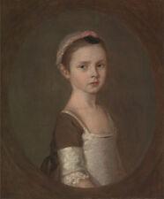 Thomas Gainsborough-Miss Susanna Gardiner Vintage Fine Art Print