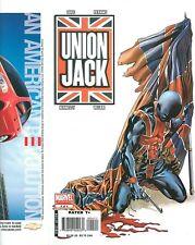 Union Jack 4 COVER PROOF Mike Perkins! Gun, Blood & Flag MARVEL PRODUCTION ART