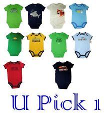 Creeper Bodysuit Boys Romper Carter's 1 piece Baby Cute Sayings Top Tee Shirt